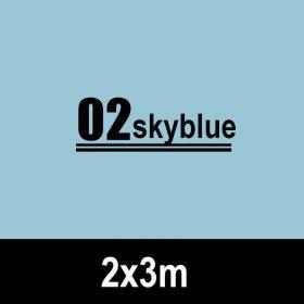 Kertas Background Kertas Backdrop Studio Foto 2x3m - Sky Blue