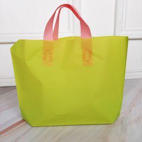 Plastic PE Green Plain 35x25cm