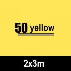 Kertas Background Kertas Backdrop Studio Foto 2x3m - Kuning