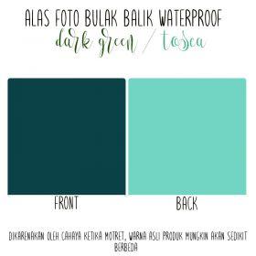 Alas Foto Polos Background Backdrop Studio Waterproof - Hijau Tua Tosca