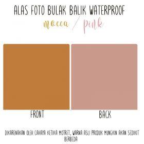 Alas Foto Polos Background Backdrop Studio Waterproof - Mocca Pink
