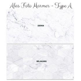 Alas Foto Background Backdrop Studio Motif Marmer - Type A
