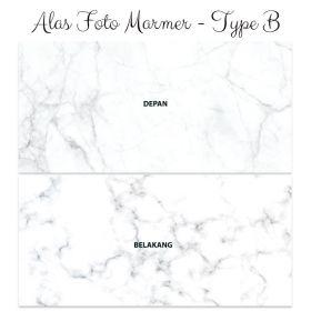Alas Foto Background Backdrop Studio Motif Marmer - Type B