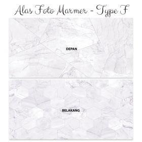 Alas Foto Background Backdrop Studio Motif Marmer - Type F
