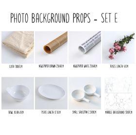 Background alas foto produk studio - Set E
