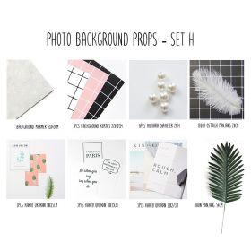 Background alas foto produk studio - Set H