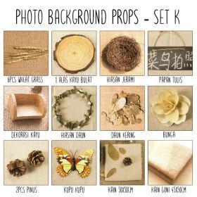 Background alas foto produk studio - Set K