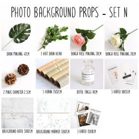 Background alas foto produk studio - Set N