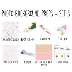 Background alas foto produk studio - Set S