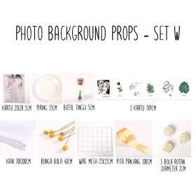 Background alas foto produk studio - Set W