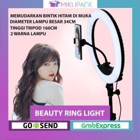 Lampu Selfie Ring Light Tripod Lantai Lighting Studio